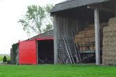 Hay-barn — Stock Photo