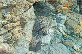 Sfondo di natura pietra vulcanica — Foto Stock
