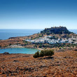 Stock Photo: Lindos