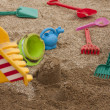 Sandpit — Stock Photo