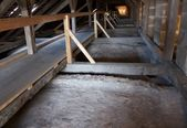 Attic of church — Stock Photo