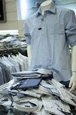 Shirt department — Stock Photo