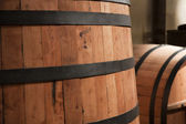 Wooden casks — Stock Photo