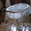 Vintage baby carriage - Stock Photo