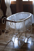 Vintage baby carriage — Stock Photo