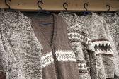 Woolen cloths — Stock Photo