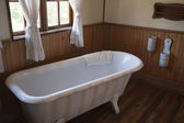 Vintage bathtub — Stock Photo