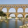 Pont du garde roman bridge - Stock Photo