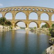 Pont du garde roman bridge — Stock Photo