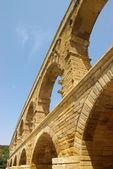 Ponte romano di pont du garde — Foto Stock