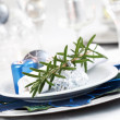 Royalty-Free Stock Photo: Place setting for Christmas