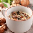 Royalty-Free Stock Photo: Mushroom soup