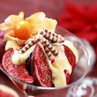Christmas dessert - Stock Photo