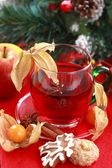 Hot drink for winter and Christmas — Stockfoto