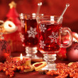 Hot drink for winter and Christmas — Stock Photo #4241087