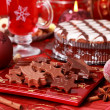 Stock Photo: Sweet chocolate for Christmas