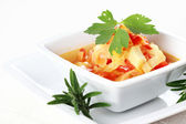 Vegetable cabbage stew — Stock Photo