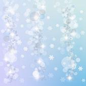 Kış ışık arka plan — Stok fotoğraf