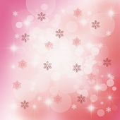 Christmas Delicate Abstract — Stock Photo