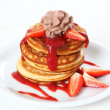 Stock Photo: Sweet pancakes