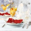 Mango sorbet for Christmas — Stock Photo #4436948
