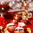Baked apples for Christmas — Stock Photo