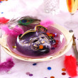 Carnival and party place setting — Stock Photo