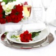 Fine place setting — Foto Stock