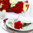 Fine place setting — Stockfoto
