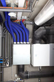 Air ventilation and heating system — Stock Photo