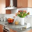 Stock Photo: Kitchen and dining room interior