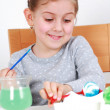 Painting Easter eggs — Stock Photo #4679930