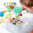 Painting Easter eggs — Stock Photo #4679941