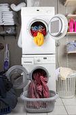 洗衣 — 图库照片