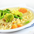 Chicken noodle soup — Stock Photo #4897006