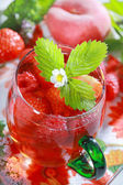 Refreshing summer drink — 图库照片