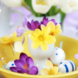 Easter place setting — Stockfoto #5135216
