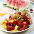 Stock Photo: Fresh fruit salad