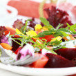 Vegetable salad with beetroot — Stock Photo