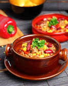 Chilli con carne — Stock Photo