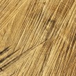 Detail of wooden cut texture - rings and saw cuts - oak - background - Stock Photo