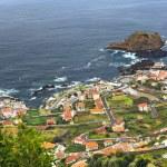Porto Moniz, north of Madeira island, Portugal — Stock Photo #4881194