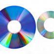 Two CD — Stock Photo