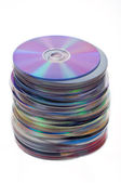 Cd pile — Stock Photo