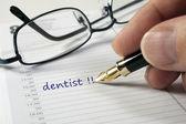 Dentist date — Stock Photo