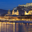 City salzburg — Stock Photo