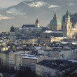 City salzburg - Stock Photo