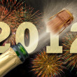 Happy new year 2012 - Foto Stock