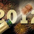 Happy new year 2012 - 图库照片