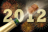 Szczęśliwego nowego roku 2012 — Zdjęcie stockowe